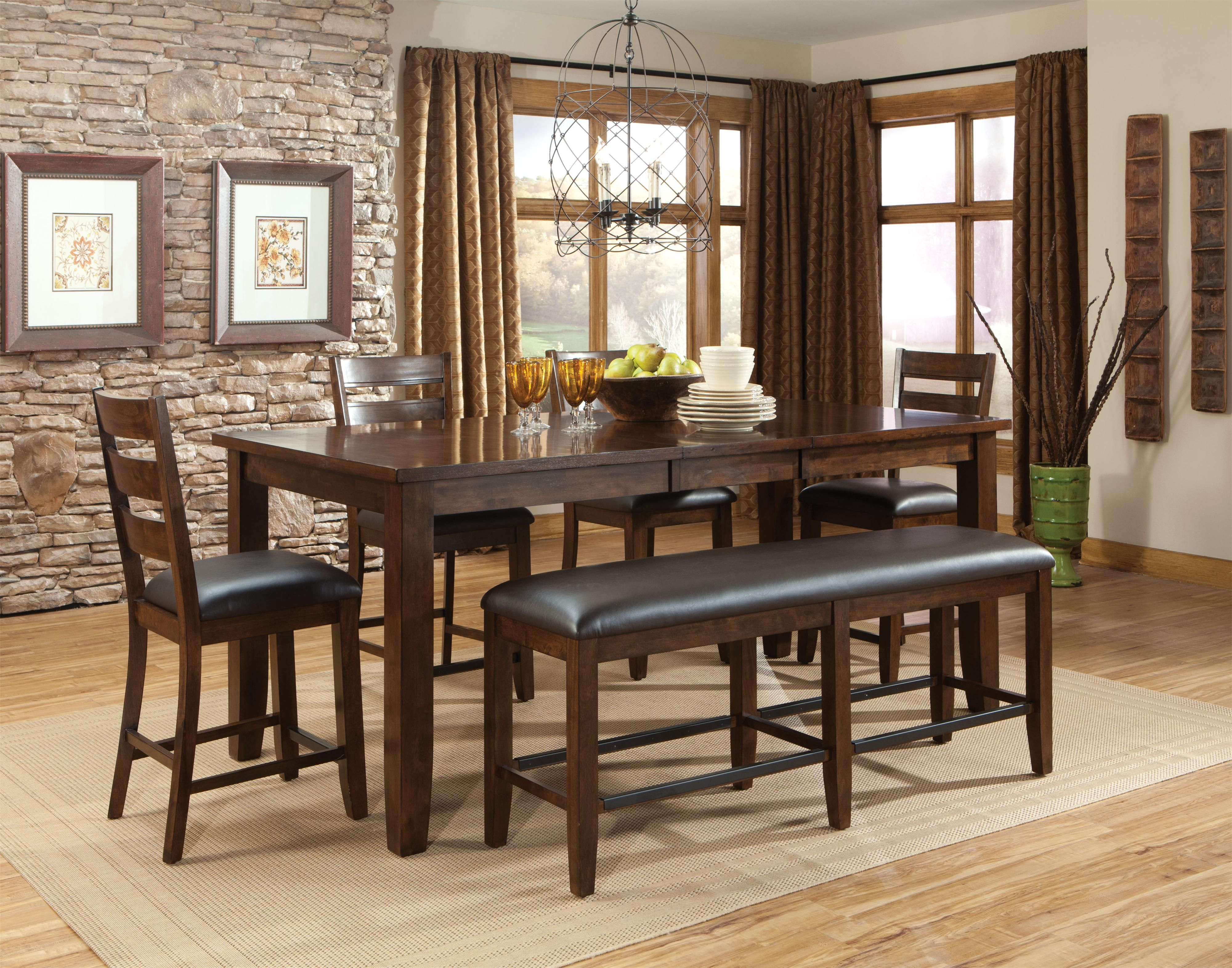 Standard Furniture Abaco Abaco Counter Height Counter Table And Chairs    Great American Home Store   Pub Table And Stool Set Memphis, TN, Southaven,  MS ...