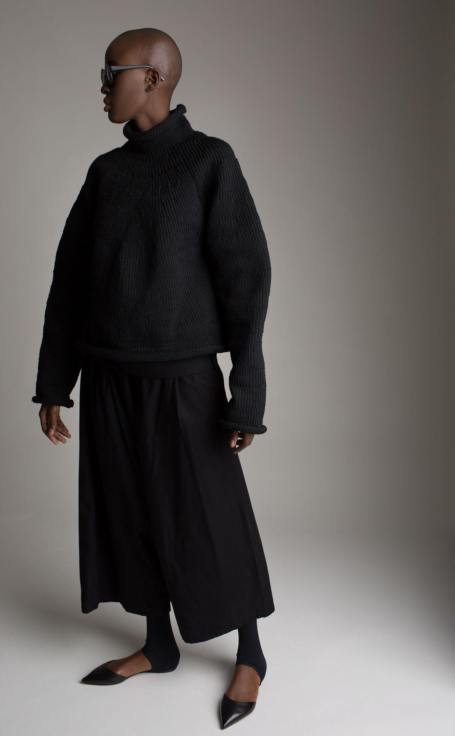 Vintage Yohji Yamamoto Fisherman S Knit Sweater Fashion Vintage Designer Fashion Yohji Yamamoto