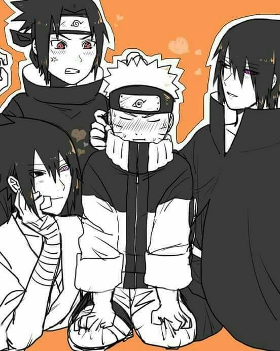 Photo of Nasuno (Naruto x Saskue pic) ⚠️⚠️⚠️⚠️⚠️⚠️