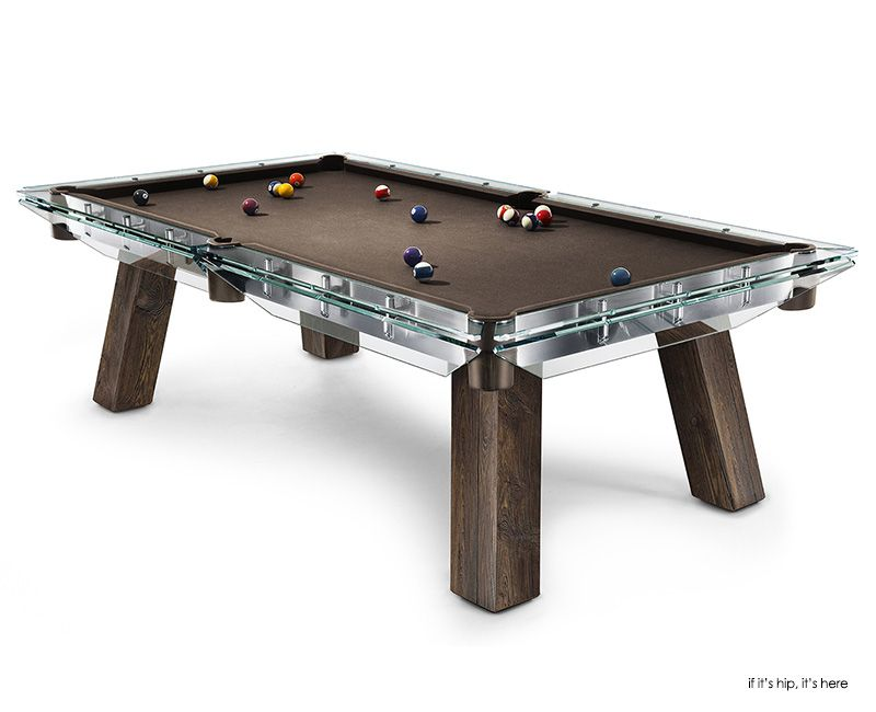 Filotto Crystal And Wood Billiard Table