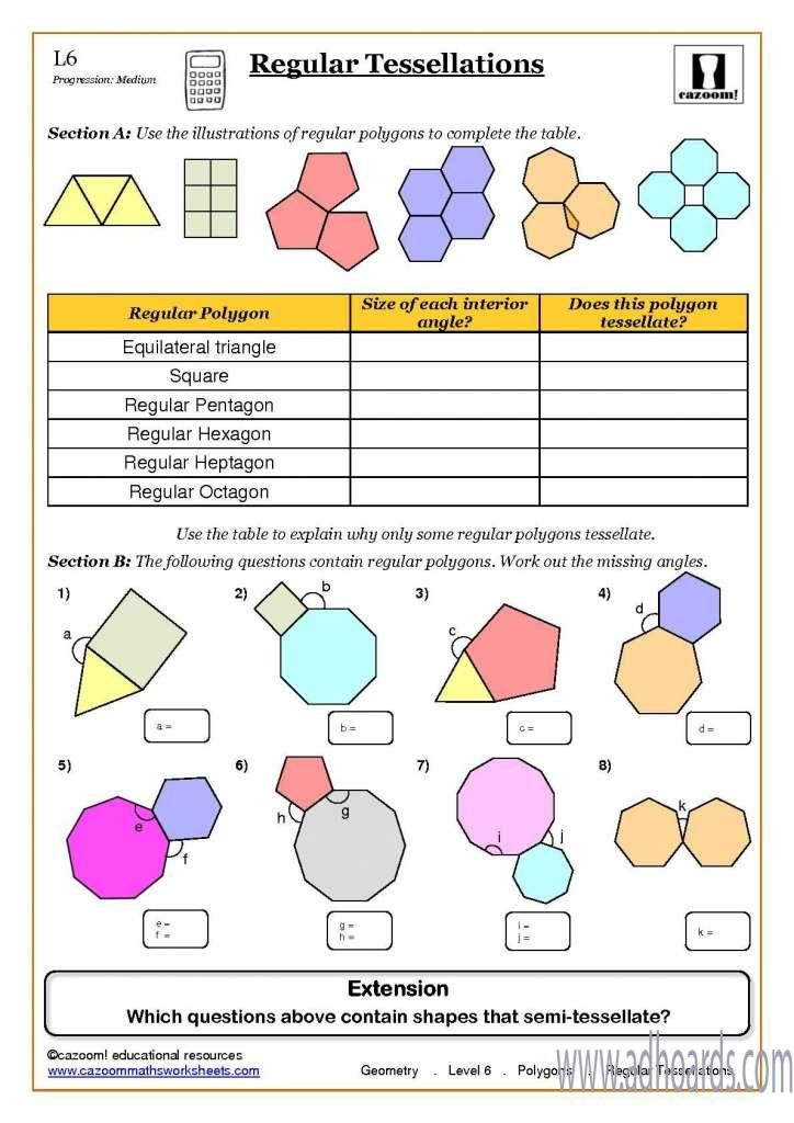 Learn Mathematics Easily With Cazoommaths Resources Herefordshire Adhoards Classified Geometry Worksheets Math Worksheets Fun Math Worksheets