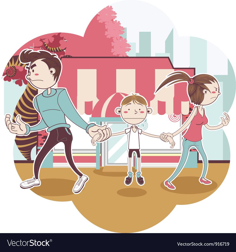 Child Custody Royalty Free Vector Image VectorStock ,