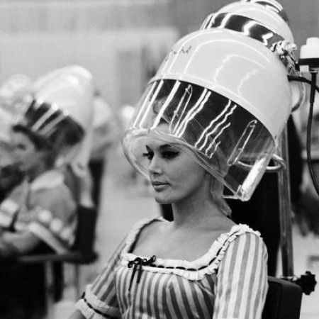 The Hair Hall Of Fame 1950s Vintage Hair Salons Vintage Hair Dryer Vintage Beauty Salon