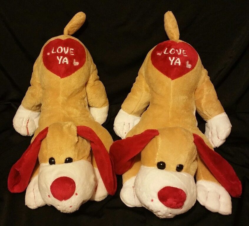 Valentine S Day Love Ya Plush Puppy Dog Pals 2 14 Long Walmart