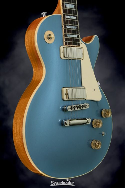 gibson les paul deluxe pelham blue top guitars in 2019 gibson guitars guitar photography. Black Bedroom Furniture Sets. Home Design Ideas