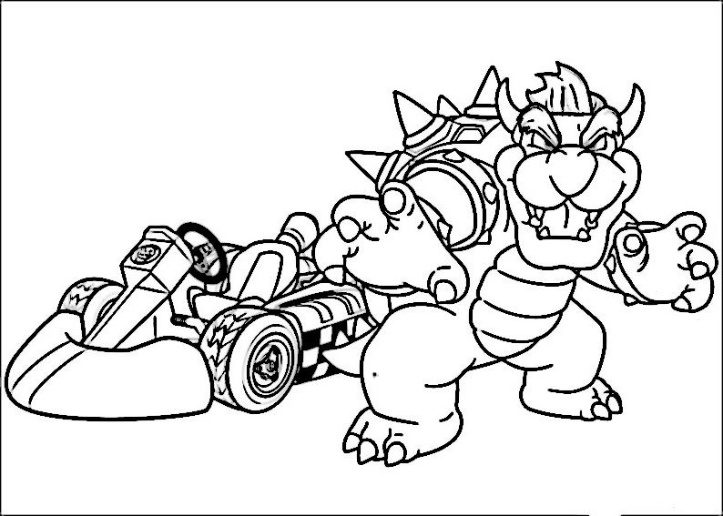 Dibujos para Colorear Mario Bross 26 | Dibujos para colorear para ...
