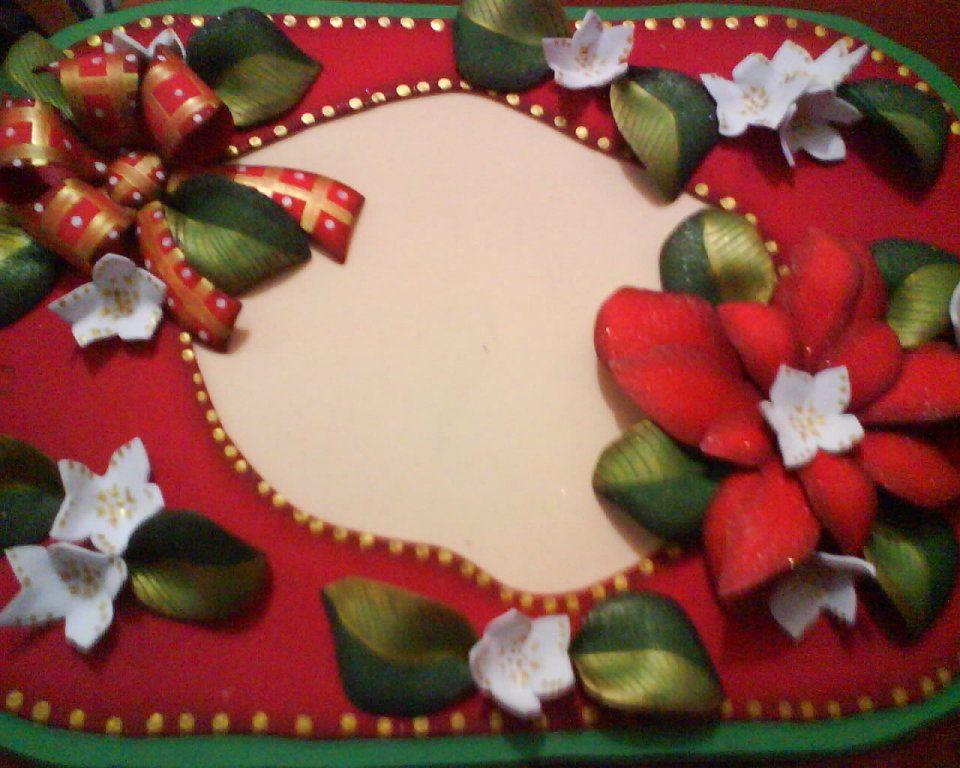 Arreglos en foami navide os para la puerta buscar con for Arreglos navidenos para mesa