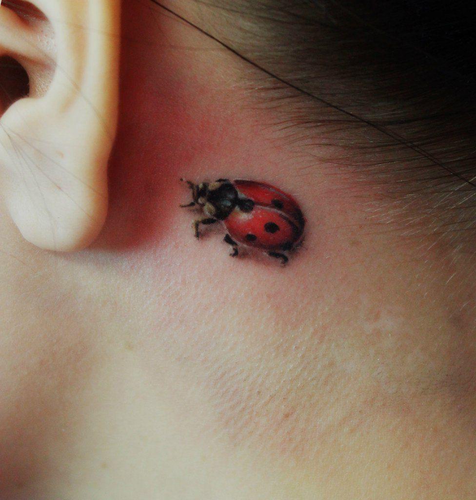 35 Tiniest Small Tattoos Kendall S Tattoo Lady Bug Tattoo