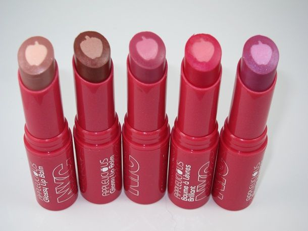 Nyc New York Color Cosmetics Applelicious Glossy Lip Balm Review