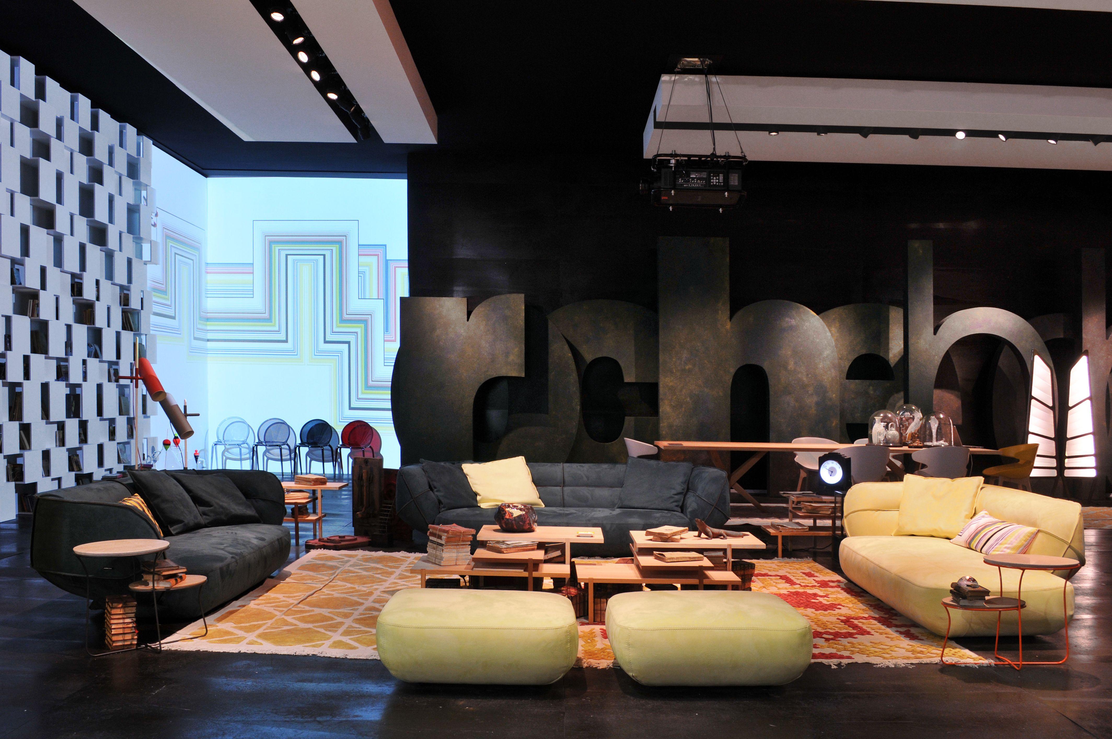 Bobois Mobili ~ Roche bobois ace sofa salone del mobile milan