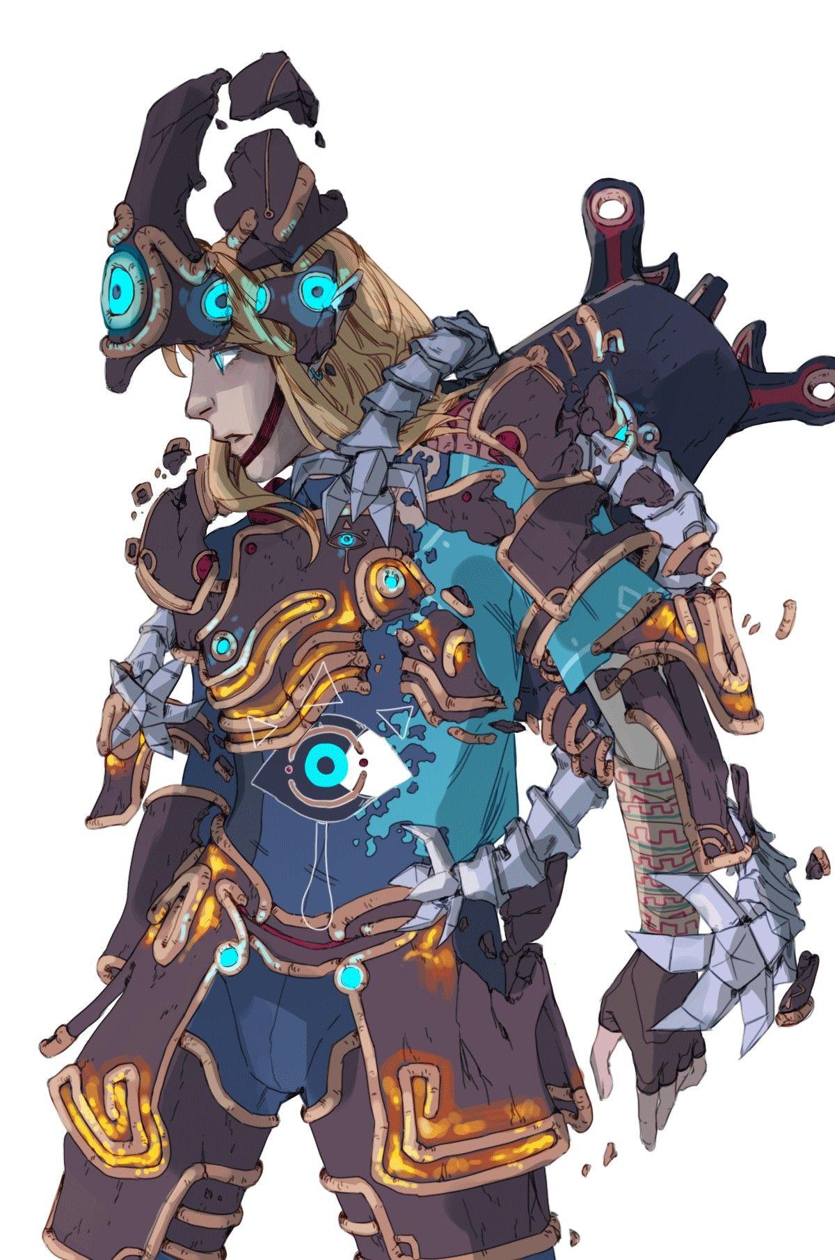 Legend Of Zelda Breath Of The Wild Art Link In The Ancestral