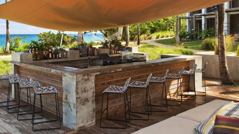 16 smart and delightful outdoor bar ideas to try beach for Bar exterieur en bois