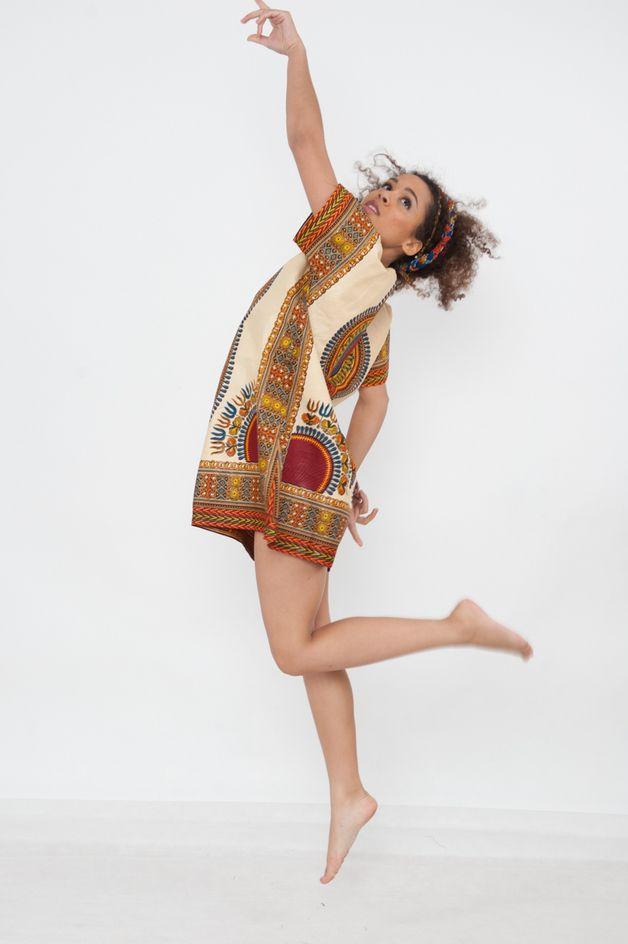 Tunic Tops – African Tunique - Addis Abeba, – a unique product by KOKOworld on DaWanda