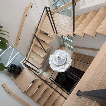 Best Black Metal Spiral Stair Kit The Charles Prefab Stair In 400 x 300