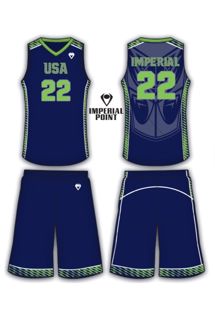 Volt Sublimated Basketball Uniform Custom Basketball Uniforms Basketball Uniforms Design Basketball Uniforms