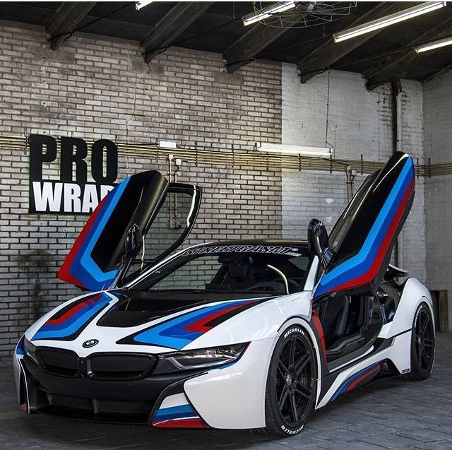 Custom I8 Wrap Bmw Vehicle Wrapping Luxury Vehicle Pinterest