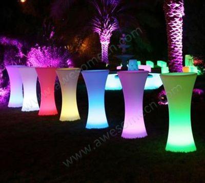 Glow Furniture high cocktail tables-led furniture, illuminated furniture, glow