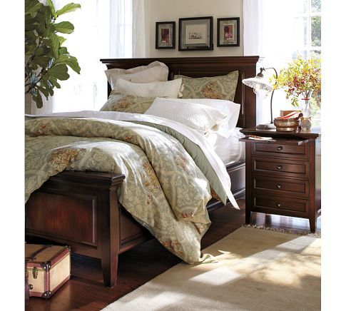 Hudson Bed Wood Bedroom Sets Pottery Barn Bedrooms Home