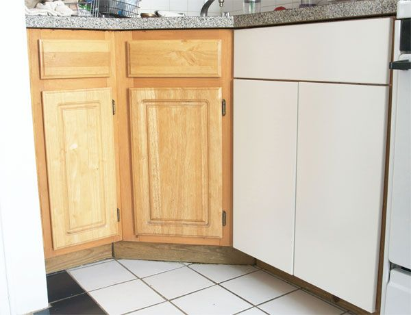 Replacing Old School Cabinets With Ikea Ones Without Changing The Cabinet Face Manhattannest Old Kitchen Cabinets Ikea Kitchen Doors Kitchen Cupboard Doors