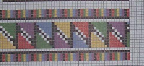 Схема для станочного ткачества | biser.info - всё о бисере и бисерном творчестве