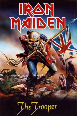The Trooper Iron Maiden Albums Iron Maiden Posters Iron Maiden Eddie
