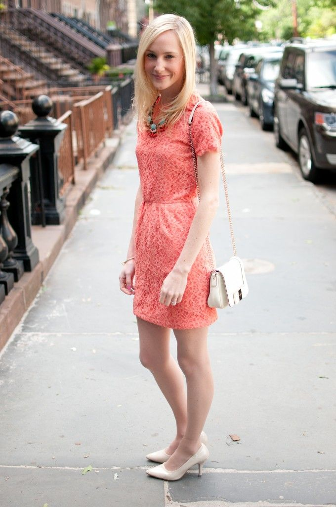 Kelly In The City Dresses To Wear To A Wedding Coral Dress Fashion