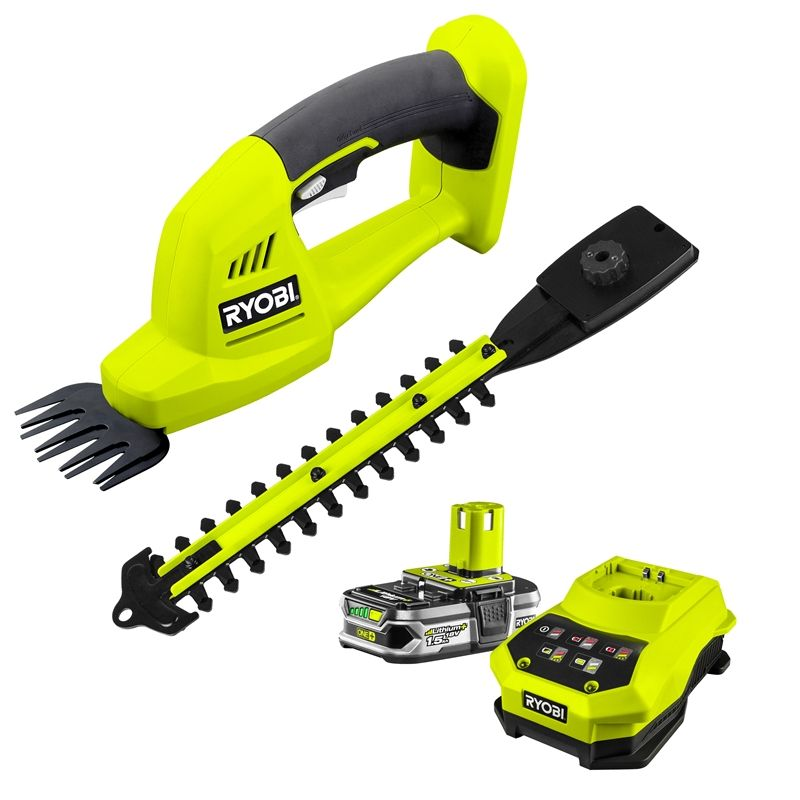 Find Ryobi One+ 18V Cordless 200mm Grass Shear And Hedge