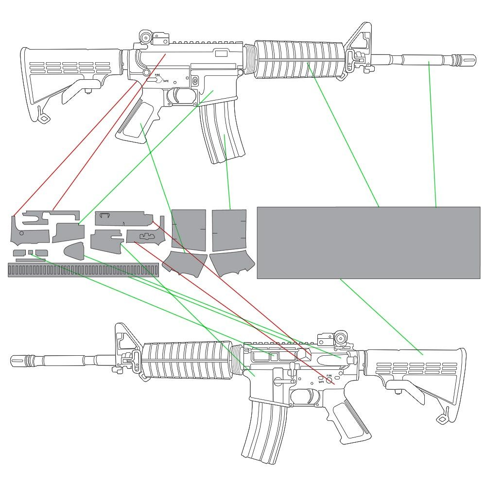 Template Compatibility for Left Handed AR-15 Rifles | Guns
