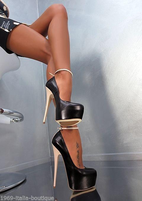 Shoespie Classy Red Platform Heels | Heels shoes | Pinterest