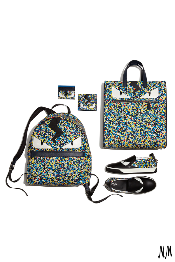 9080477b0e74 Take part in the confetti craze with the Monster collection by Fendi.  Perfect for adding a touch of danger to any ensemble.