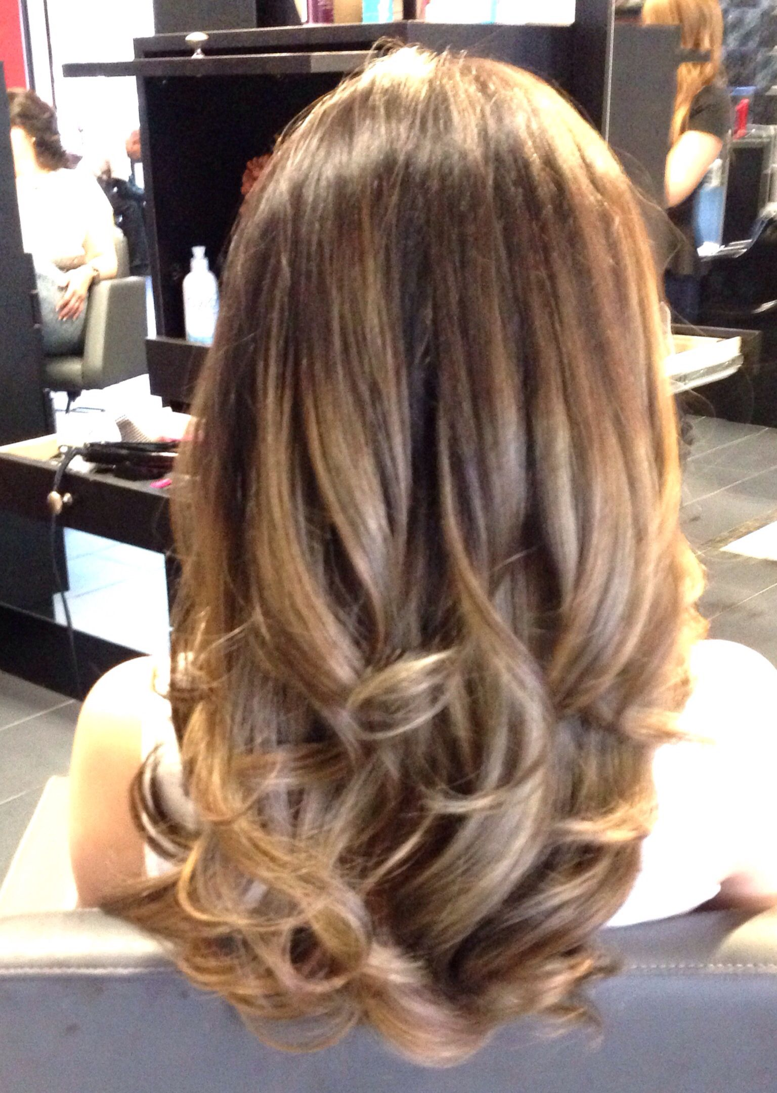 Caramel brown hair with honey blonde highlights board for Caramel blond