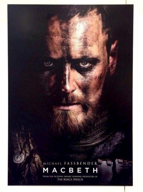 First Poster For 'Macbeth' Starring Michael Fassbender & Marion Cotillard #macbeth
