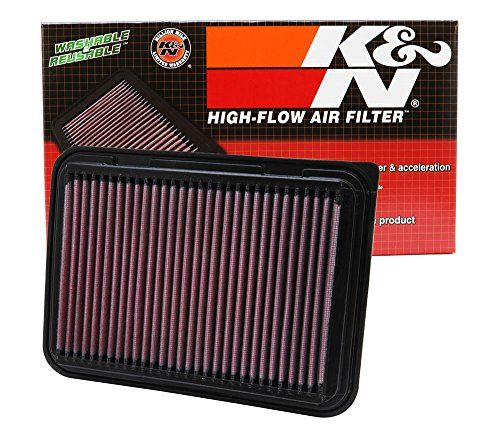 K&N Engine Air Filter, Washable And Reusable: 2002-2019