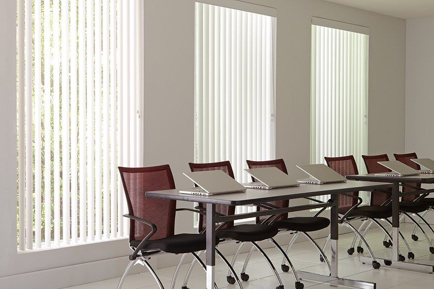 Office Window Treatments Coverings Lafayette Interior Fashions