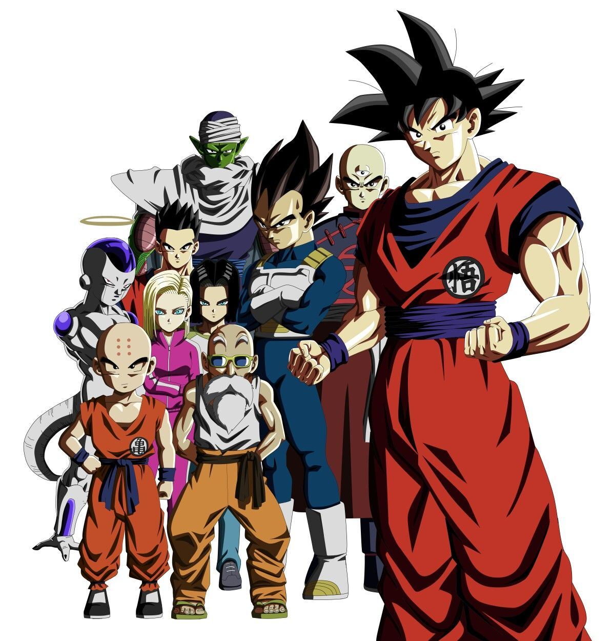 Team Universe 7 From 11th Ending Song Dragon Ball Super Dragon Ball Image Anime Dragon Ball