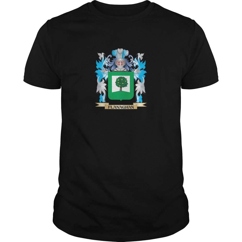 Flanaghan Coat of Arms - Family Crest - Perfect for Flanaghan family reunions or those proud of their family Flanaghan heritage.  Thank you for visiting my page. Please share with others who would enjoy this shirt. (Related terms: Flanaghan,Flanaghan coat of arms,Coat or Arms,Family Crest,Tartan,Flanaghan...)