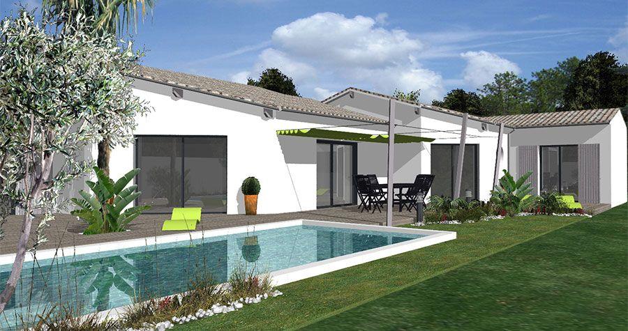 Modèle Maison régionale - IGC Construction maison Pinterest - faire sa maison en 3d
