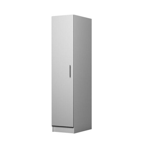 Mapleview 1 Door Corner Wardrobe 17 Stories Colour White Corner Wardrobe 3 Door Sliding Wardrobe Tall Cabinet Storage