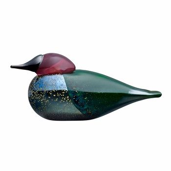 iittala Toikka Anna's Hummingbird | While many of Oiva Toikka's creations are hatched solely from his imagination, Anna's Hummingbird is a rendering of the real bird named after a 19th century Italian duchess. An exclusive to FinnStyle, its partner sites and the Museum of Glass it was designed for, this limited edition beaut is numbered x/200 to make it a must-have for iittala collectors.