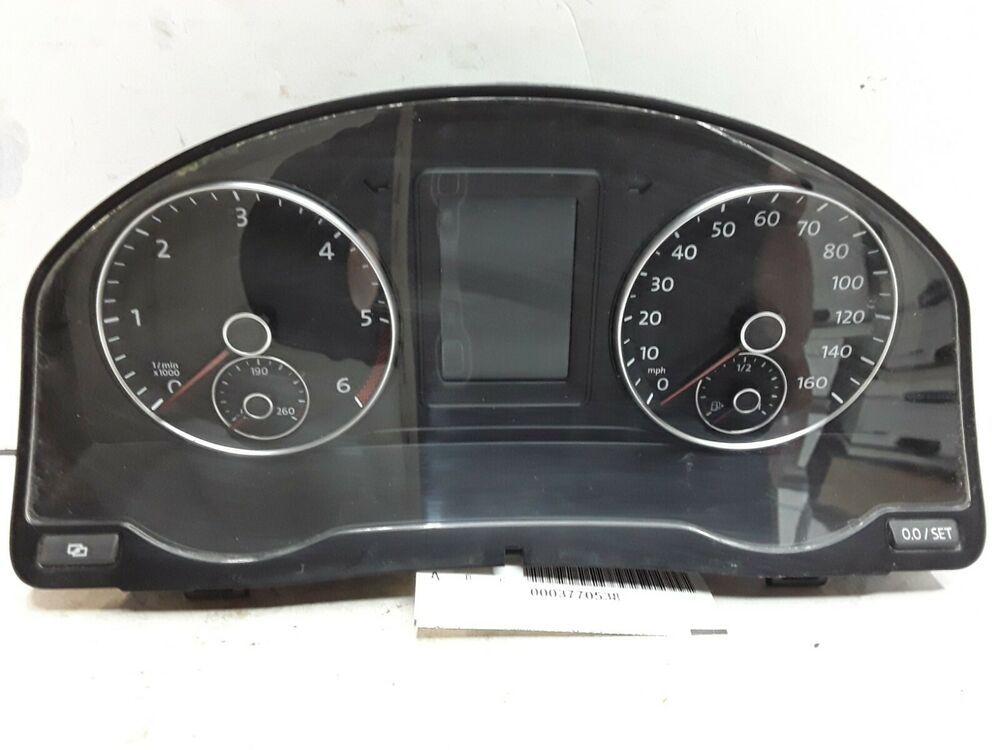 08 09 10 Volkswagen Jetta Sedan Mph 2 0 L Speedometer 5m0920 970g 39 427 Miles Ebay Volkswagen Volkswagen Jetta Vw Jetta