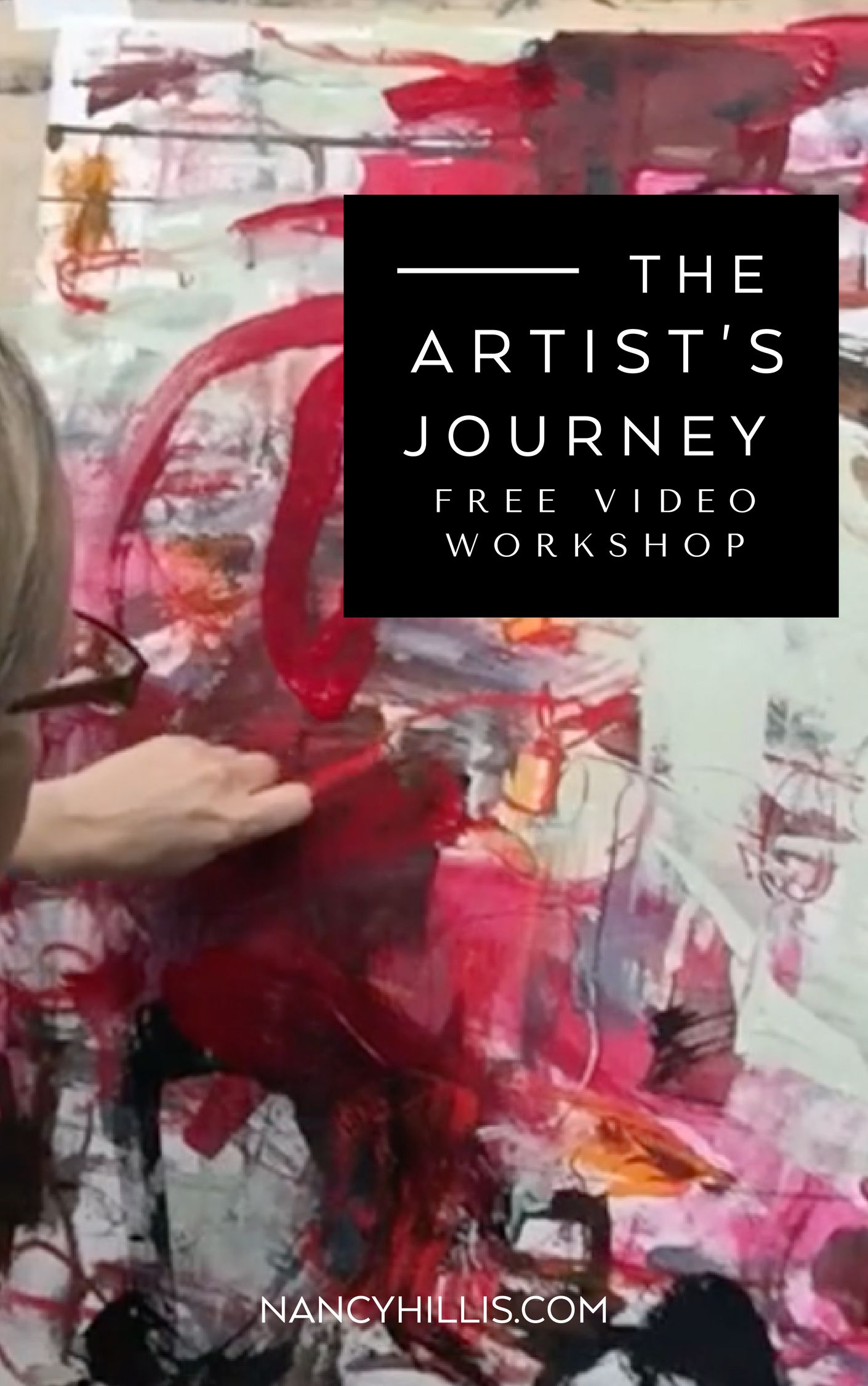 Free Video Workshop Create Your Deepest Abstract Art Express You
