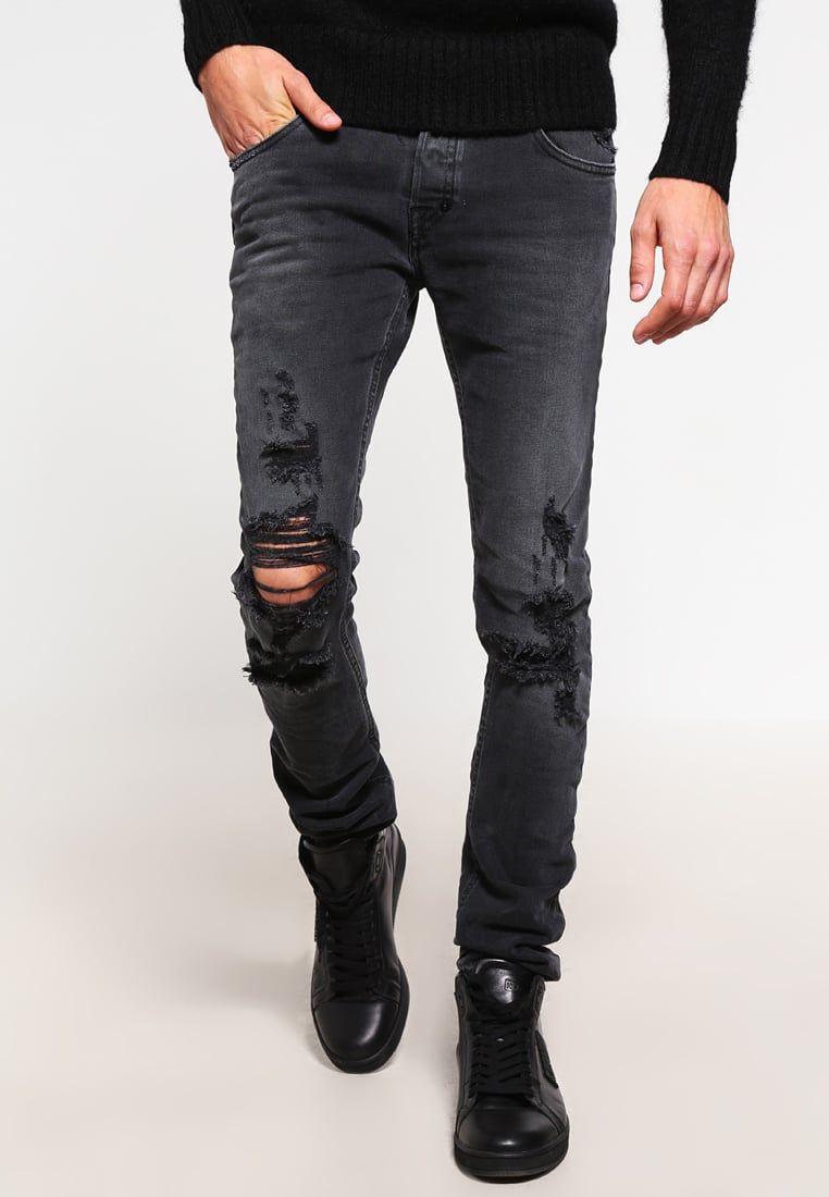 5e5179feacbc Just Cavalli Jean slim black denim prix Jeans Homme Zalando 250.00 €
