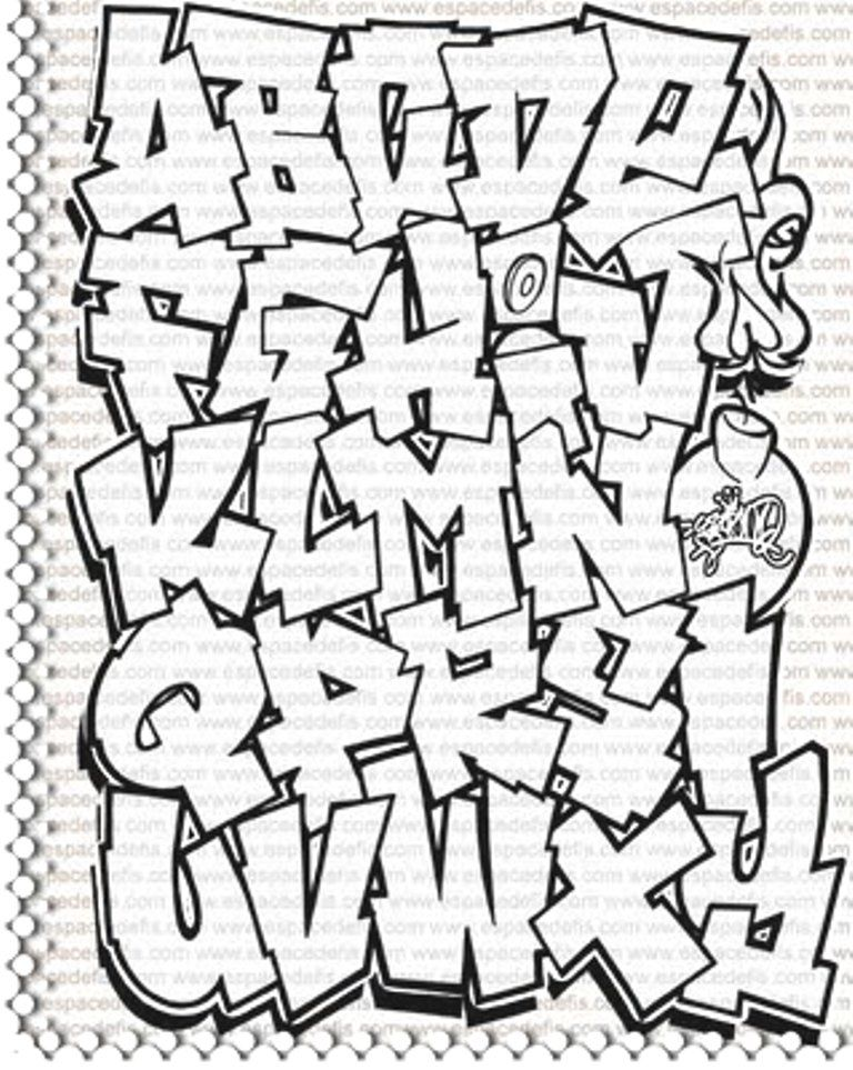 Graffiti Alphabet Art In 2019 Graffiti Alphabet Graffiti