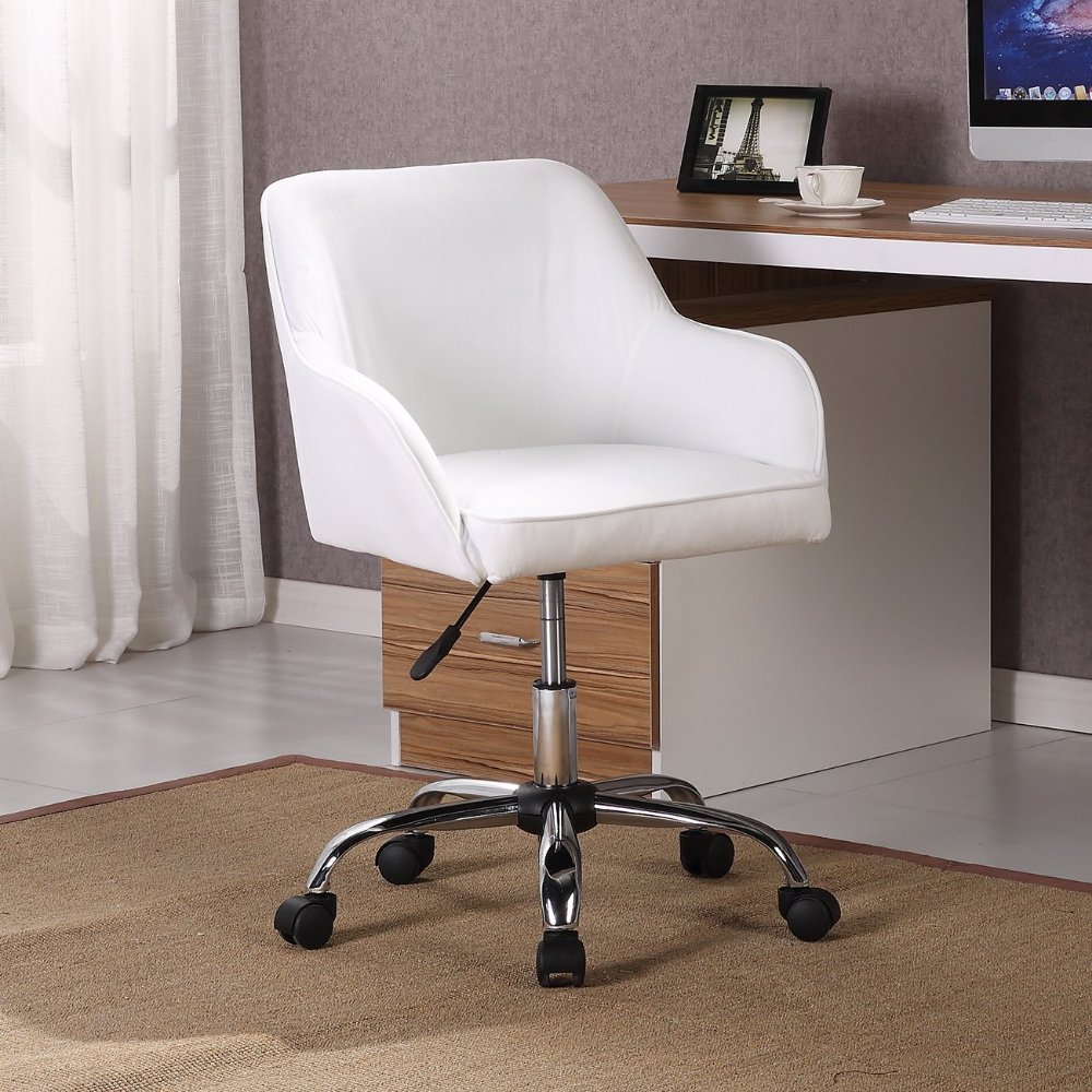 Amazon.com: Belleze Modern Office Chair Mid-Back Task Home