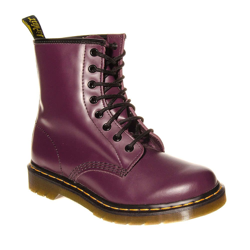 8b54454aef4 Dr Martens 1460 Smooth Boots (Purple)