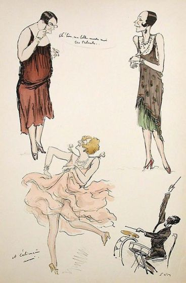 SPOTLIGHT ON GEORGES GOURSAT'S (AKA SEM) HIGH SOCIETY AND FASHION ILLUSTRATIONS http://wp.me/p3KQGr-1yW #drawing, #fashion, #GeorgesGoursat, #high #society, #illustration, #Paris, #Sem, #socialite