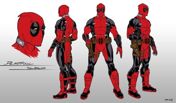 deadpool\'s suit - Google Search | Deadpool | Pinterest