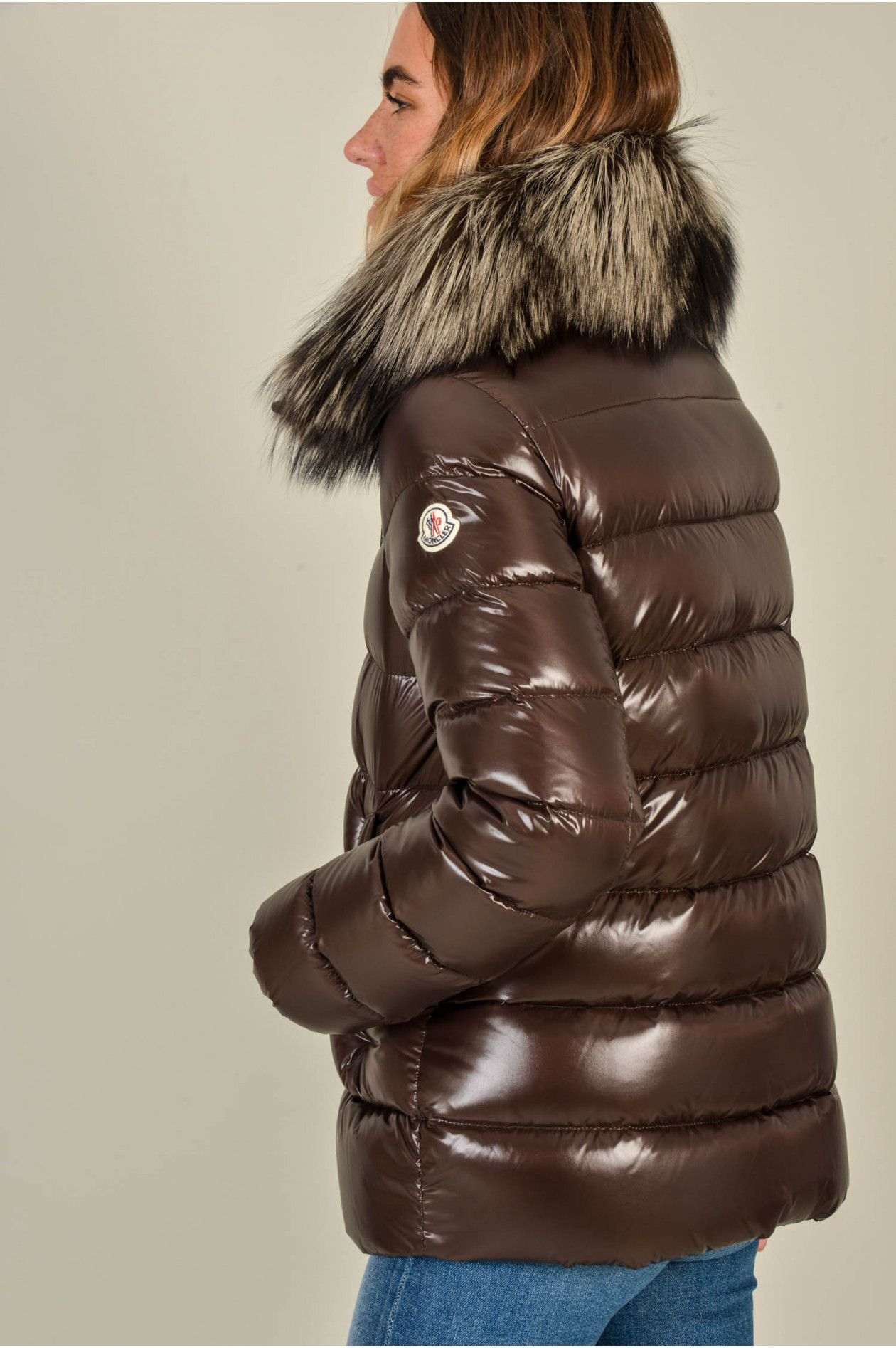 competitive price 01c10 95957 Jacke TARIER in Braun   shiny down coat【2019】   ダウン ...