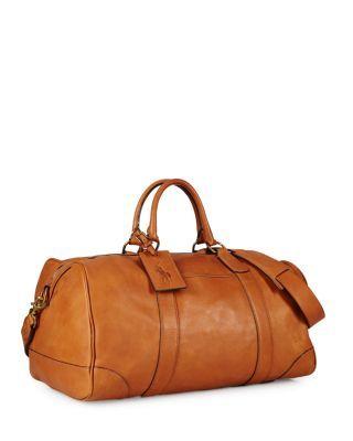 889b5bf47d POLO RALPH LAUREN Core Leather Duffel Bag.  poloralphlauren  bags  lining   travel bags  shoulder bags  suede  hand bags  weekend  cotton