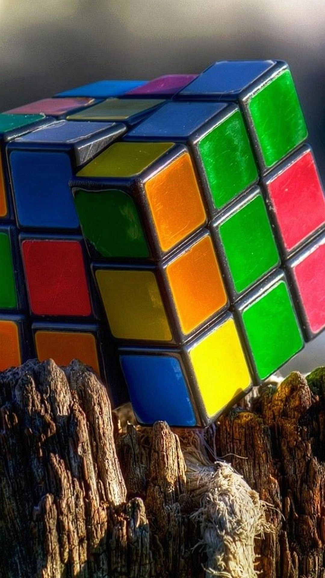 TAP AND GET THE FREE APP! Colorful Rubik's Cube Puzzle HD
